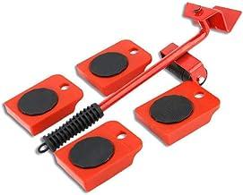 Lourde Meubles Shifter Lifter Roues Mobiles Slider Kit Easy Mover Retrait Déplacer Rouge