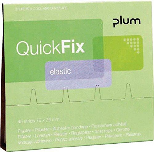 Nachfüllpack für QuickFix elastisch PLUM atmungsaktiv, 45 Stück