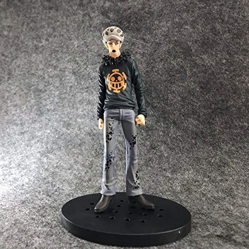 SDFDSSR Una Pieza Trafalgar Ley Perstura Postura PVC Material Anime Figura Modelo Modelo Toys Regalos