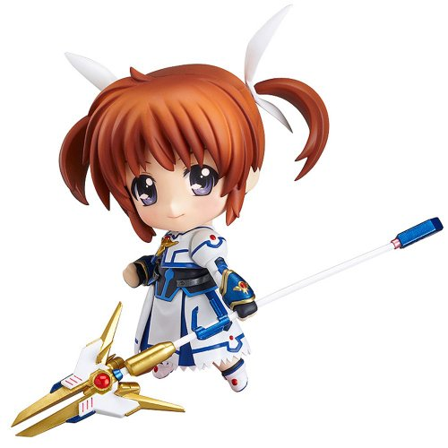 Magical Figurine Nendoroid Girl Lyrical Movie' - Nanoha Takamachi Exelion