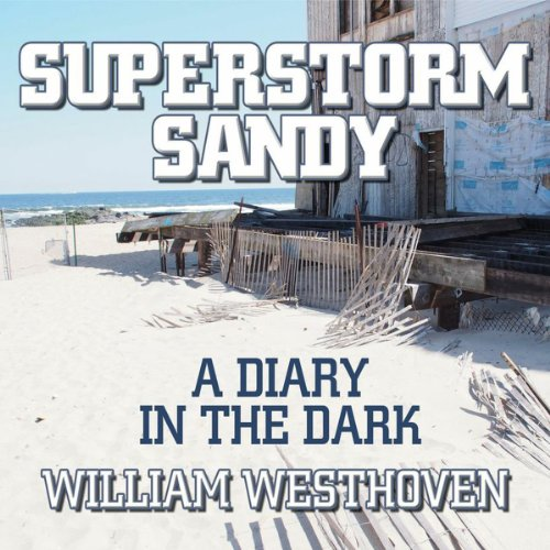 Superstorm Sandy audiobook cover art