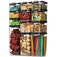 12-Pack Seseno Airtight Food Storage Container Set