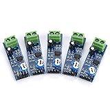 5PCS Module amplificateur audio 5V-12V 200 Gain LM386 Carte amplificateur audio Conseil Ampli Stéréo pour Arduino EK1236