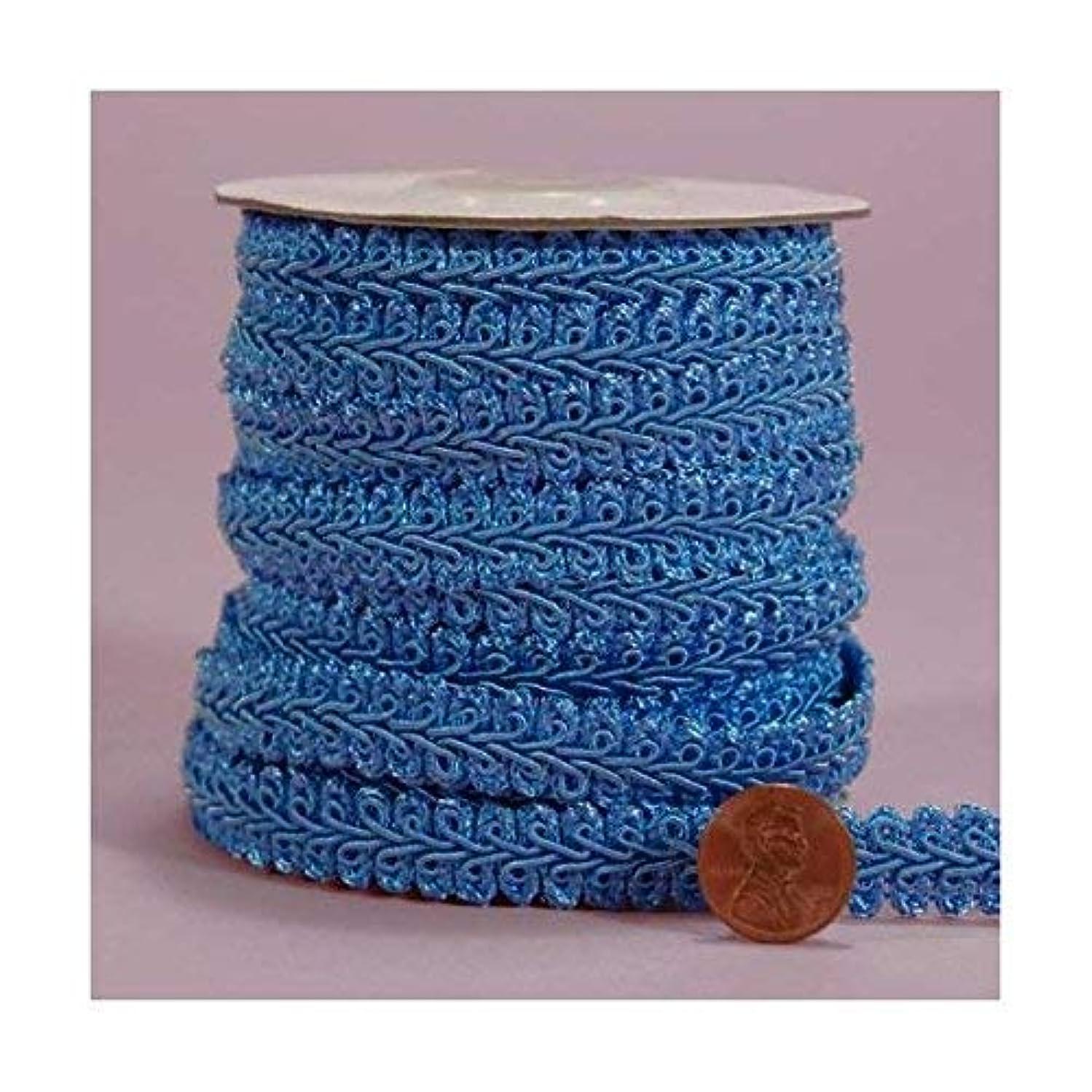 Turquoise Gimp Braid Trim, 5/8
