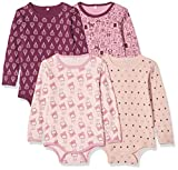 Body de manga larga Pippi 381960098, 4 unidades, para niño, niña, body con...
