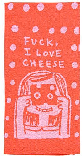 F**k I Love Cheese Tea Towel