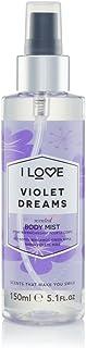 I Love Body Mist Violet Dreams, 150 ml