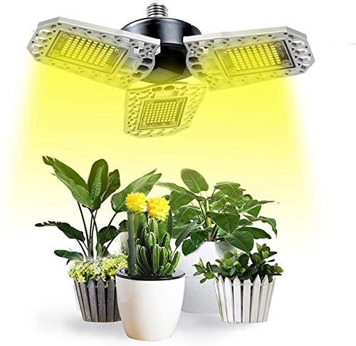 YDBET LED Grow Light, Phyto Lamp 4000K Full Sepctrum Lights for Plants Led Grow Tent Seed Flowers Herbs Greenhouse,E27,200W 240leds