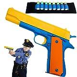 Colt 1911 Kid Toy Gun Soft Bullets Ejecting Magazine -...