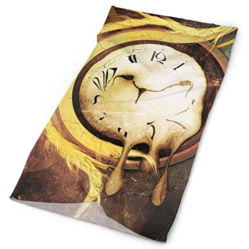 Quintion Robeson Bandana al Aire Libre para la Cara del Rave, máscara bucal, protección contra el Polvo, Reloj Despertador, máscara de Tubo, pañuelo para la Cabeza, Mujeres Hombres BDA-491