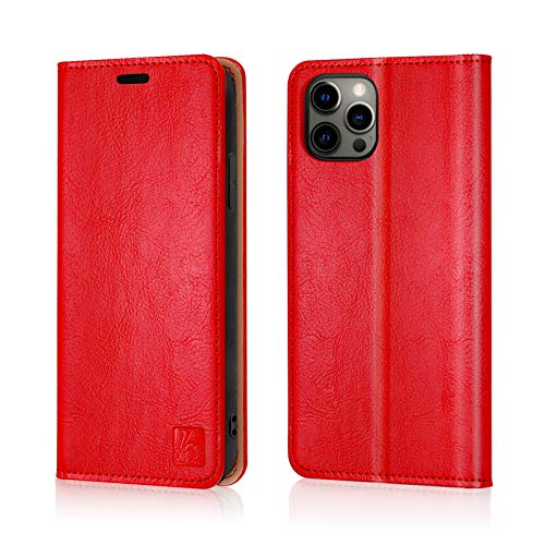 Belemay Compatible with iPhone 12/12 Pro Wallet Case 5G (6.1