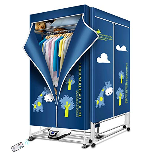 KASYDoFF Clothes Dryer Portable 1500W-1.7 Meters 3-Tier Foldable Clothes Drying