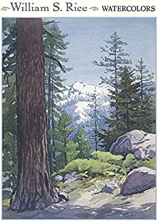 William S. Rice: Watercolors Boxed Notecards 0637