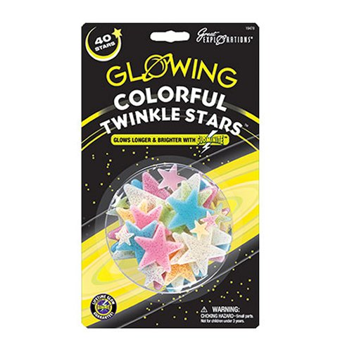 University Games Colourful Twinkle Stars