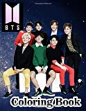 BTS Coloring Book: K-pop coloring book of the boy band BTS Featuring Jimin, J-Hope, Jin, RM, Jungkook, Suga & V (BTS coloring books)