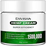 🌿【NO.1】:hemp extract cream is very suitable for neck, back, fingers, elbows, buttocks. Suitable for daytime and night use. 🌿【NO.2】our hemp extract cream is enriched with natural ingredients: boswellia extract, aloe vera, arnica montana, menthol, turm...