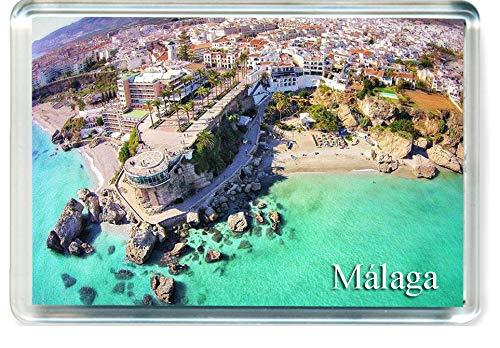 H266 Málaga Imán para Nevera Spain Travel Fridge Magnet