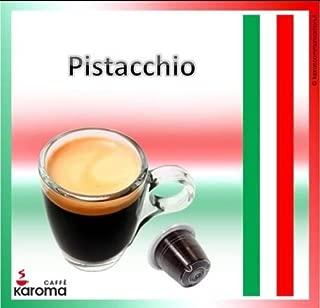 100 Karoma Capsules Compatible With Nespresso Machines (Pistachio) (Angri, Salerno Italia)