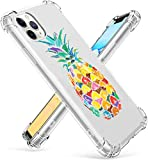 RicHyun iPhone 11 Pro Case, Colorful Pineapple Soft Flexible TPU Bumper Case for iPhone 11 Pro 2019 (Pineapple)