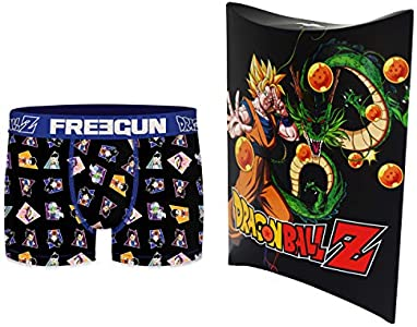 Dragon Ball Z - Bóxer con bolsa de regalo, colección oficial Freegun – Hombre multicolor S