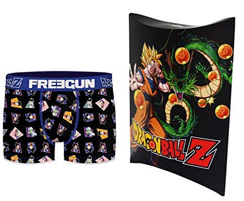 Dragon Ball Z - Bóxer con bolsa de regalo, colección oficial Freegun – Hombre