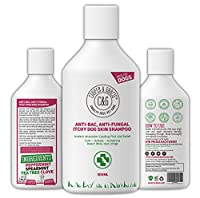 VET RECOMMENDED CRUELTY FREE 100% NATURAL : We use only the Highest Quality Natural Cruelty Free Essential Oil Blends, Expect Superb Coat Shine, Itch Relief and Skin Healing from Our Product: No More Uncomfortable Dog Walks Or Worries Of Skin Damage ...