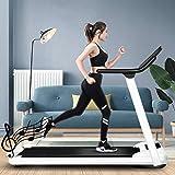 Folding Treadmill Treadmill, Under Desk Treadmills For Home, Working Treadmills For Running, Led Treadmill For Home Running Machine With Remote Control, 1-10km/h Speed Portable Treadmill, For Indoor