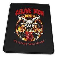 マウスパッドceline Dion セリーヌ・ディオン (2) 滑り止め ゲーミング 耐摩耗性 高耐久性 疲労低減 水洗い ファッション オフィス/ゲーム/パソコンなどに適用 (4サイズを選択可能)