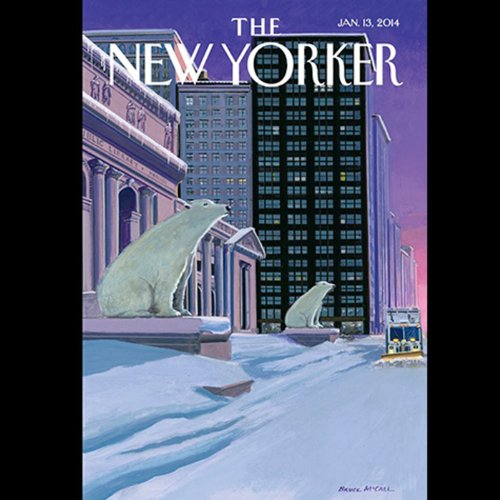 The New Yorker, January 13th 2014 (Rebecca Mead, Evan Osnos, Evgeny Morozov) audiobook cover art