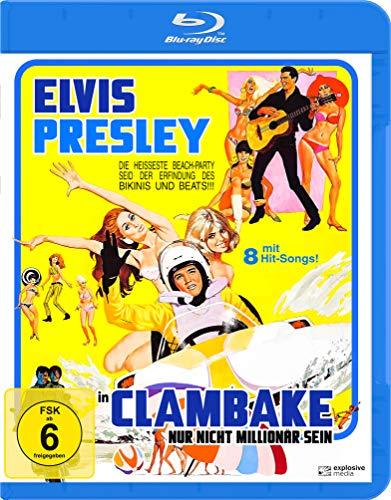 Nur nicht Millionär sein (Clambake) [Blu-ray]