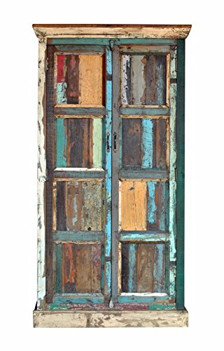 Lowest Price! Reclaimed Wooden 72 Almirah/Wardrobe Handmade Antique Wood