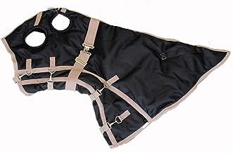 AJ Tack Wholesale Horse Turnout Blanket Hood Neck Cover Waterproof Ripstop 1200D Black