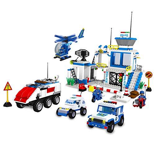 800 pcs Ville Thunder Warrior DIY Assemblé Building Blocks Jouets Éducatifs pour Enfants Cadeaux De La Maternelle
