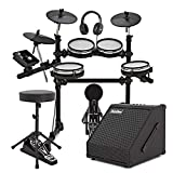 Digital Drums 420X Mesh Electronic Drum Kit and 30W Amp Pack