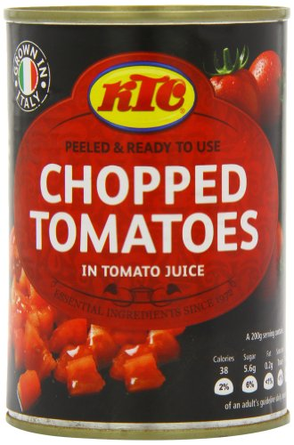 KTC Tomatoes Chopped 400 g (Pack of 12)