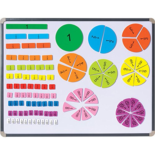 Didax Educational Resources Magnetic Fraction Tiles