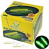 QualyQualy Glow Sticks de Pesca - Starlite de Pesca 100 Piezas Luces de Aviso en Cañas Pesca, Luminoso Luz Stick Pare Cañas Pesca, Glow Sticks Pare Cañas Pesca (100 Piezas XL: 3.3-3.7mm)