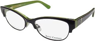 Juicy Couture 137 Womens/Ladies Cat Eye Full-rim Flexible Hinges Prestigious Designer Teen Eyeglasses/Spectacles