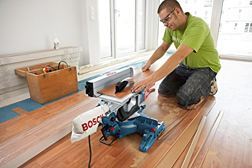 Bosch Professional Scie à table et à onglet GTM 12 JL, (1800 W, Ø de la lame: 305mm, pack d'accessoires)