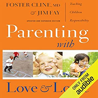 Parenting With Love and Logic audiobook cover art