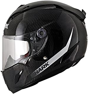 Shark Race-R Pro Carbon Skin Helmet (Black/White, X-Small)