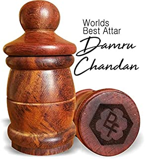 Parag Fragrances Damru Chandan Attar (Worlds Best Attar For Men By Parag) Long Lasting Attar - Real Attar - Alcohol Free A...