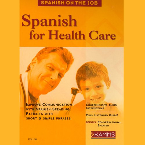 Spanish for Health Care audiobook cover art