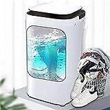Suge Portable Mini lave-linge Blue-ray Stérilisation 360 ° Deep Clean Brosse grande capacité lavable 3-5 paires de chaussures