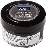 Woly Shoe Cream, Trattamenti e Lucidi per Scarpe Unisex Adulti, Nero (Black), 50.00 ml