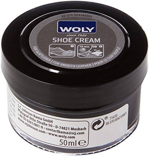Woly Woly Shoe Cream, Unisex Erwachsene, Schwarz (Schwarz), 50.00 ml