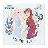 Calendario Disney 2022 incluye póster - Calendario Frozen - Calendario 2022 pared - Calendario 12 meses │ Calendario mensual - Calendario de pared - Calendario anual - Producto con licencia oficial