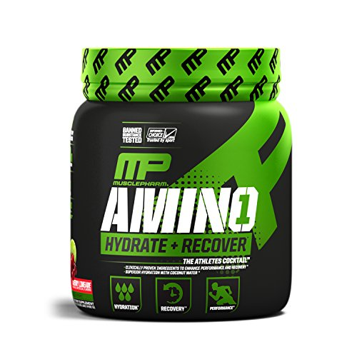 MusclePharm Amino 1 Sport Nutrition Powder, Cherry Limeade, 30 Servings