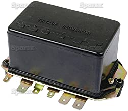 Sparex Voltage Regulator for Ford tractors 2000 3000 4000 5000 1965 - 1975 with 12v Generator D0NN10505A