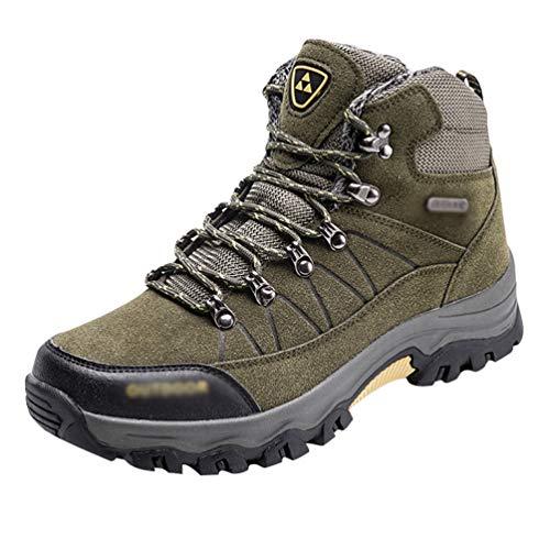 Yuanu Zapatos De Senderismo Impermeables Zapatos Deportivos